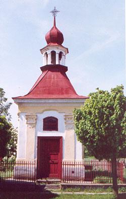 Kaplička v Hroněticích